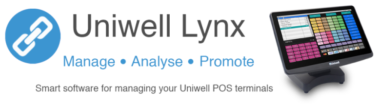 Uniwell Lynx Smart Software for managing Uniwell POS terminals