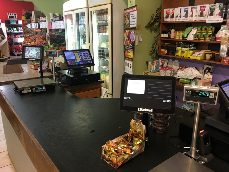 POS for Fruit & Veg#uniwell4pos #uniquelyuniwell